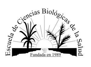 Logo escuela de ciencias biológicas de la salud